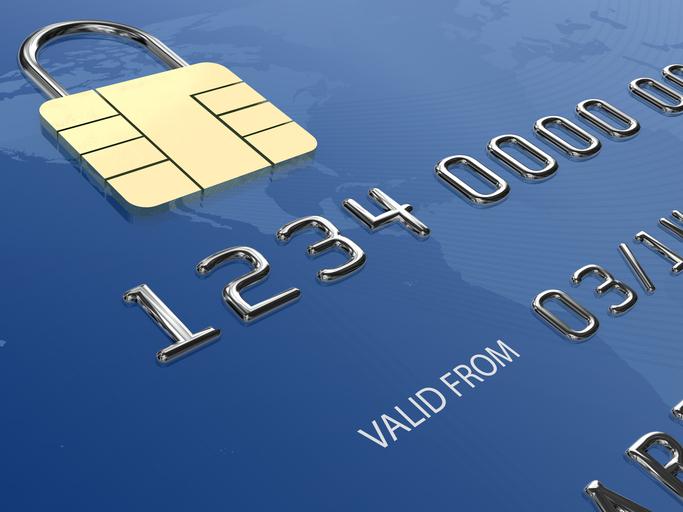 Credit card bank payment security
