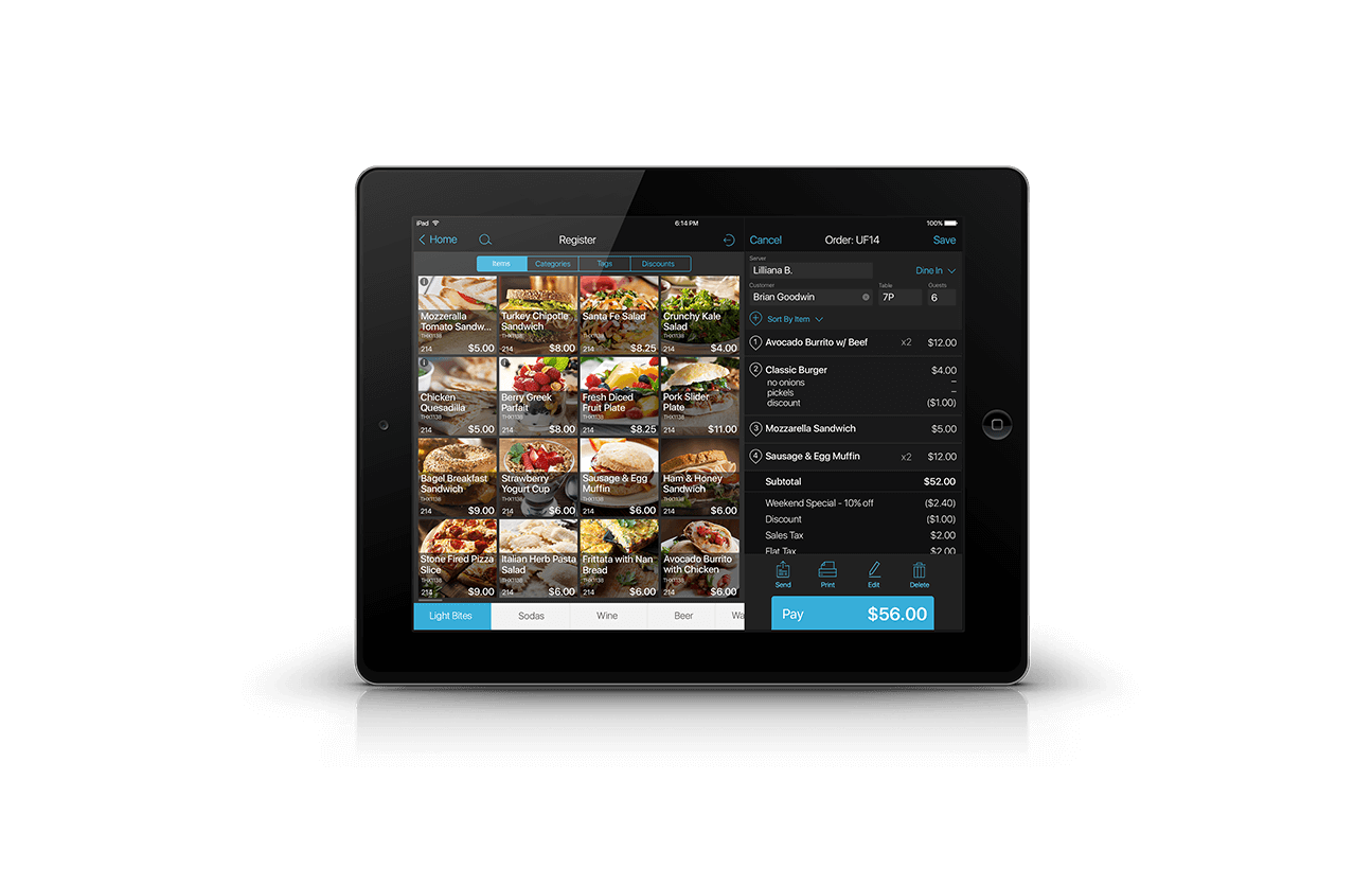Ipad Point Of Sale System Ntc Texas